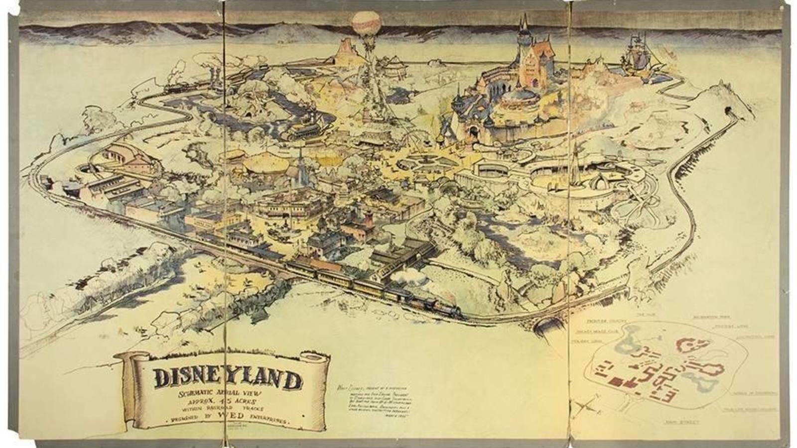 Fue elaborado en 1953 por el propio Walt Disney para buscar financiación para la construcción del parque. También se subastarán 800 accesorios, trajes, recuerdos y artículos originales de Disney