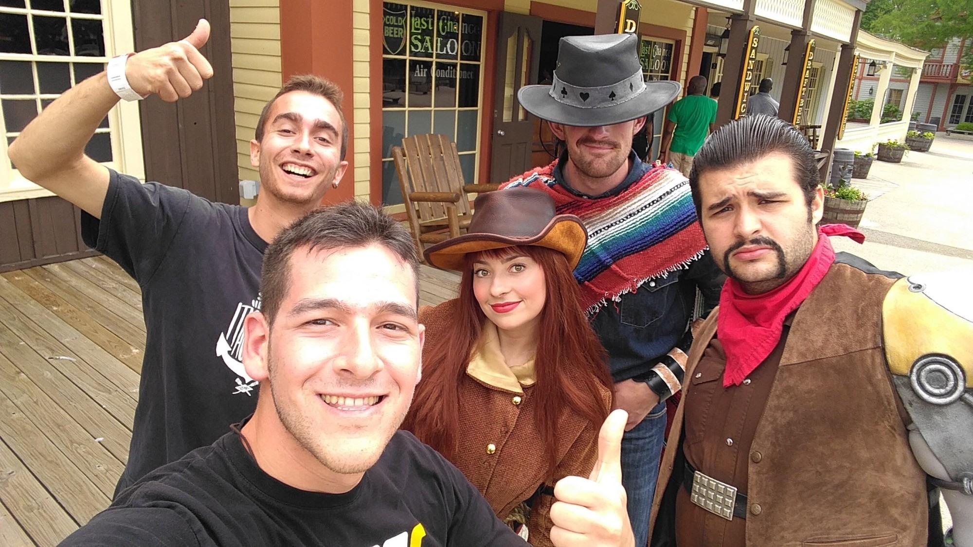 Selfie con Chess, Blackjack y Digger     @furius_boy