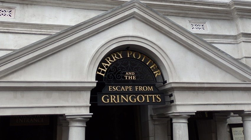 Entrada 'Harry Potter and the Escape from Gringotts'