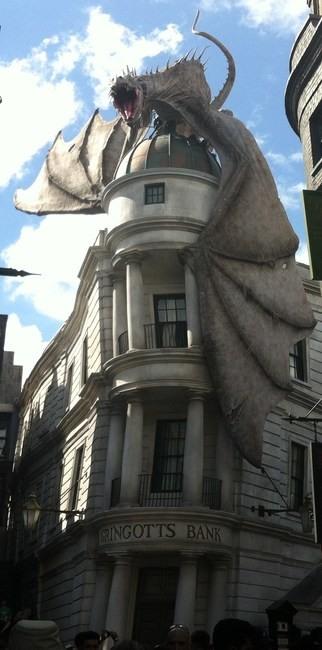 Fachada edificio Gringotts Bank