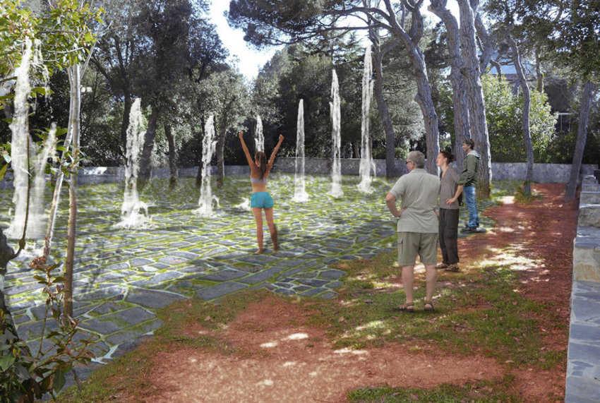Nova zona de jocs d'aigua / Nueva zona de juegos de agua