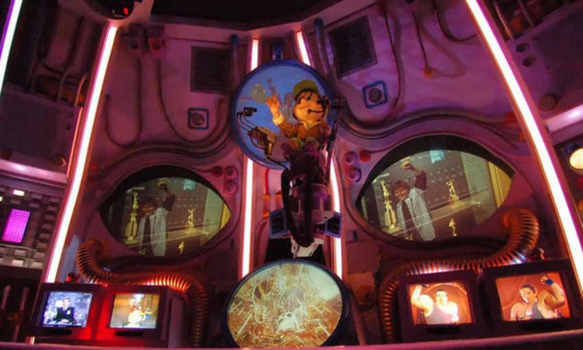 "Atracción ""Cranium Command"" de Disney Epcot"