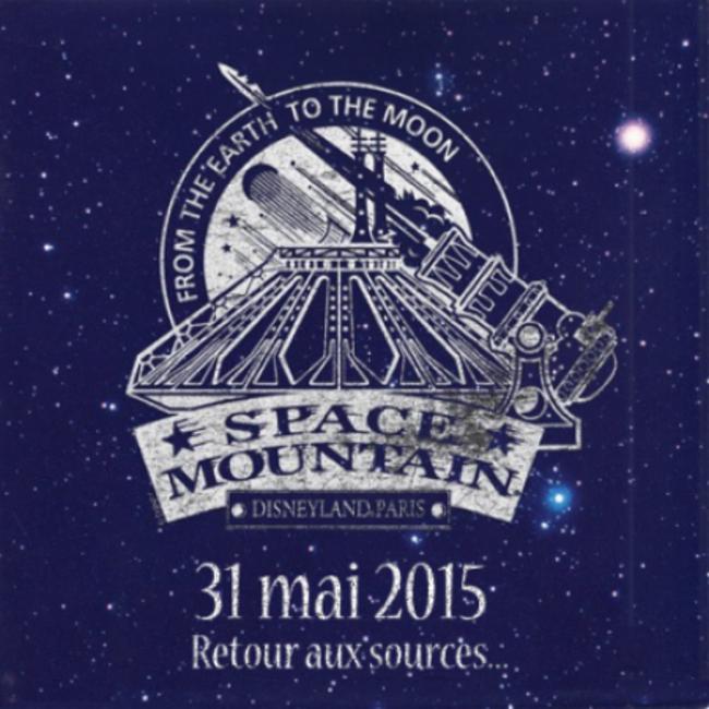 20º aniversario de 'Space Mountain'