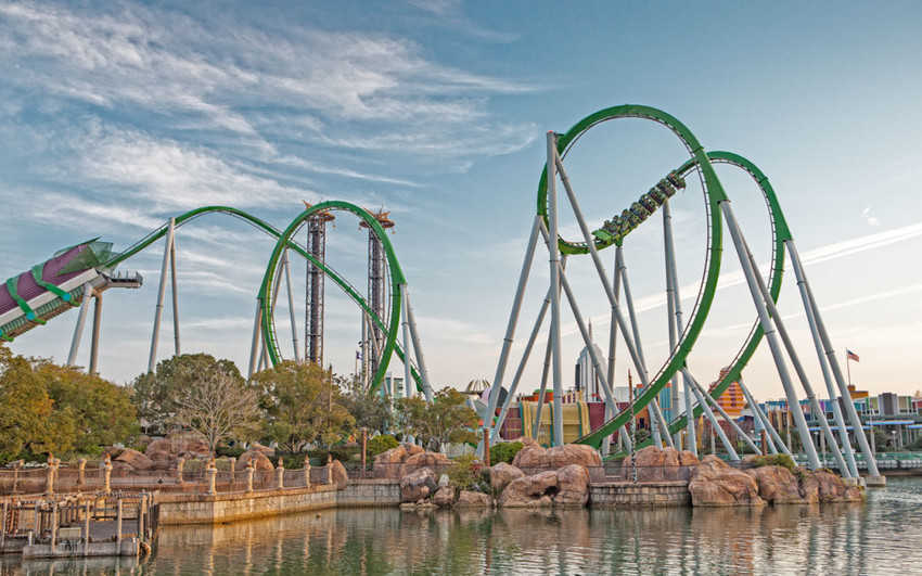 'The Incredible Hulk Coaster' experimentará grandes mejoras y renovaciones