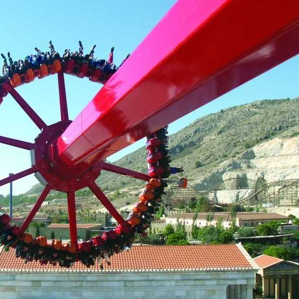 Foto de TERRA MITICA EN LOS EUROPEAN STAR AWARDS 2012.