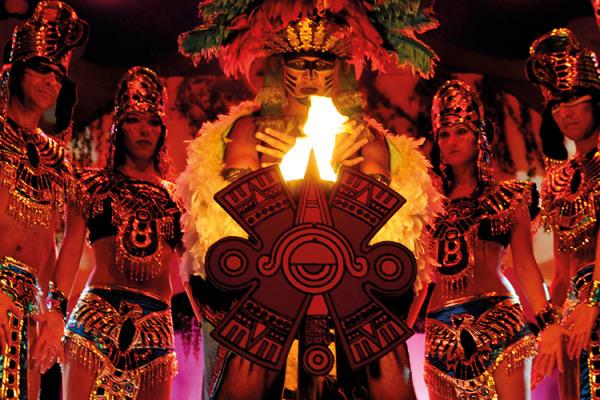 Resultado de imagen de Rituales Mexicanos Port Aventura