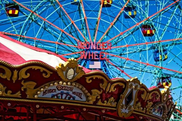 Deno`s Wonder Wheel Park
