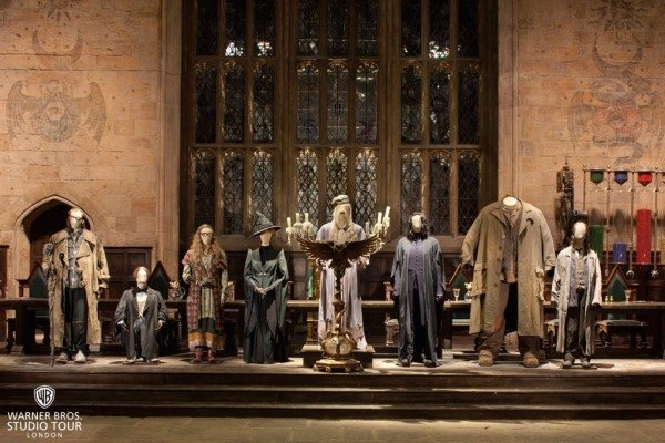 Harry Potter.  Warner Bros Studio Tour London