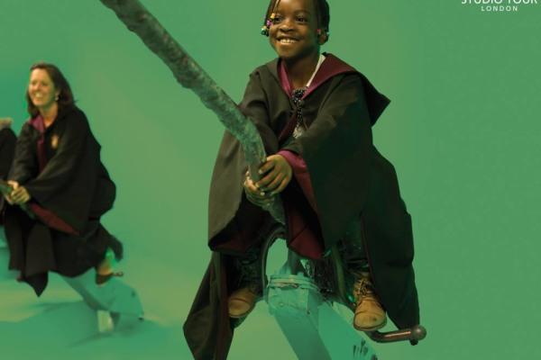 Harry Potter.  Warner Bros Studio London