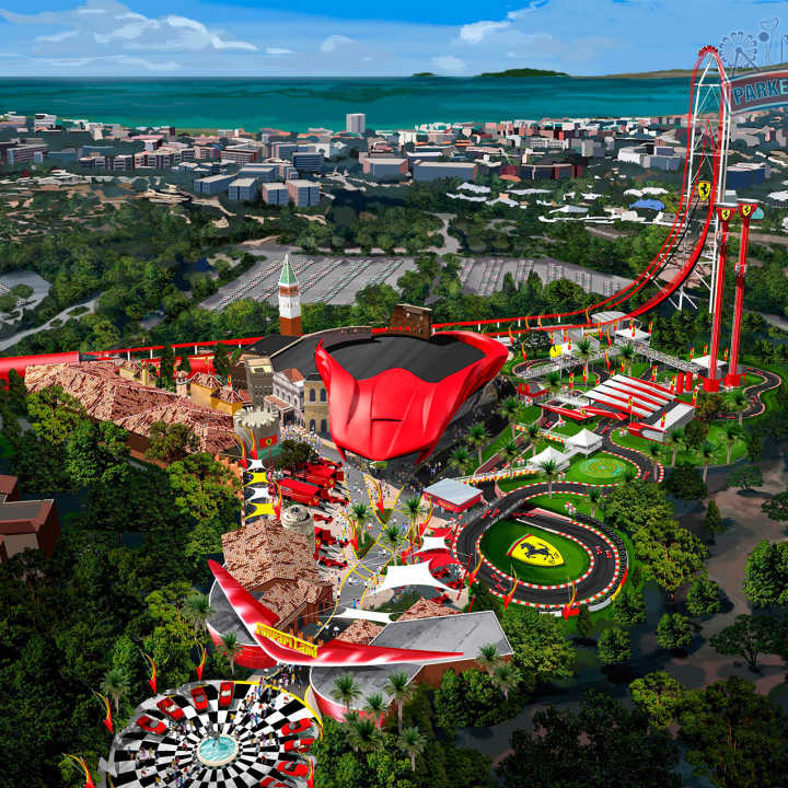 PortAventura Park Ferrari Land nel 2017, il launched da 180km/h in 5 secondi