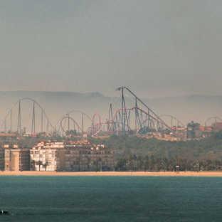 Foto de Shambhala - Atracción 2012 Port Aventura